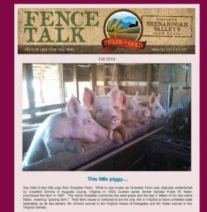 fence-talk